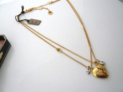 Auth Juicy Couture Best Friends Forever NECKLACE New WITHOUT BOX $68
