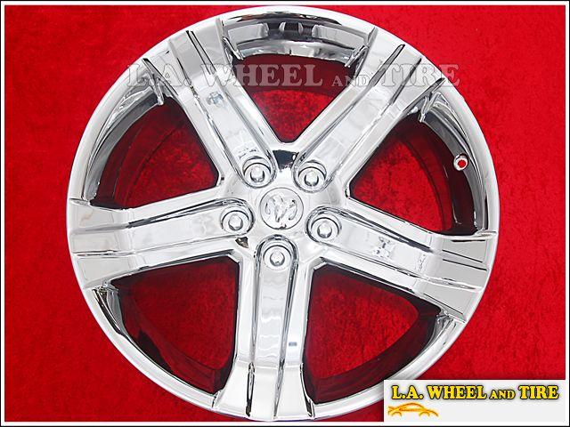 of 4 New 22 Dodge Ram 1500 SRT10 OEM Chrome Wheels Rims EXCHANGE 2388
