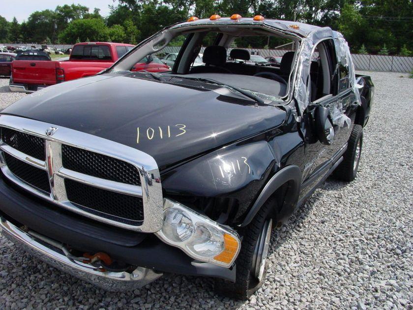 donor vehicle information model dodge ram 2500 pickup year 2005 miles